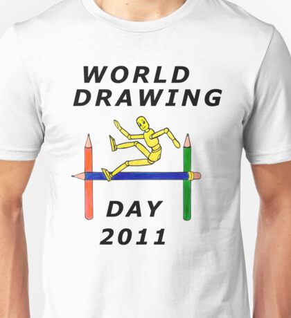 World drawing day T-shirt entry Unisex T-Shirt