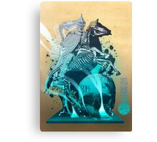 The White King's Knight Canvas Print