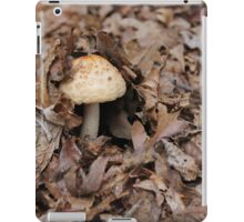 mushrooms in the forest iPad Case/Skin