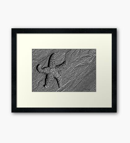 On the Beach #6 Framed Print
