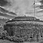 Deal Castle mono by Geoff Carpenter