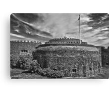 Deal Castle mono Canvas Print