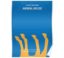 No230 My Animal House minimal movie poster Poster