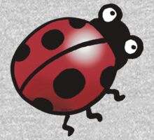 cute insect ladybug One Piece - Long Sleeve