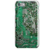 Futuristic circuit board design iPhone Case/Skin