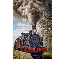 Loco 2705 - Through Train at Bargo River Road Photographic Print