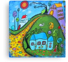 A Storybook Life Canvas Print