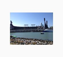 AT&T Park from other side of McCovey Cove Unisex T-Shirt