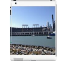 AT&T Park from other side of McCovey Cove iPad Case/Skin