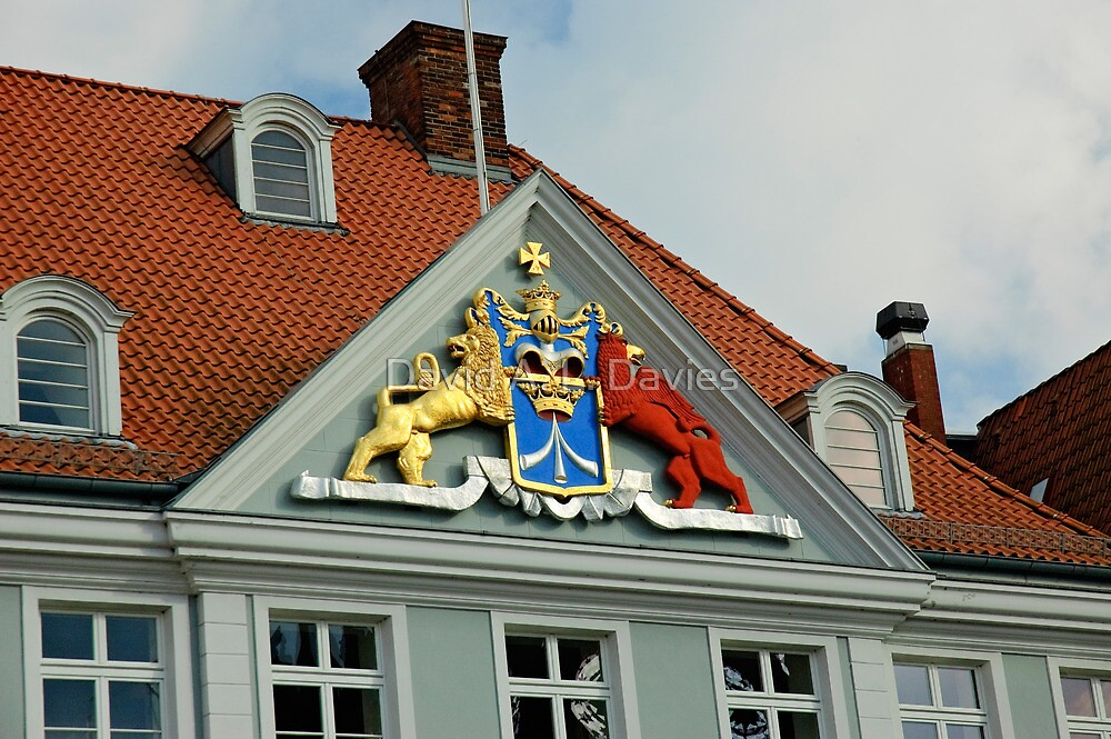MVP23 Coat of Arms, Stralsund, Germany. by David A. L. Davies