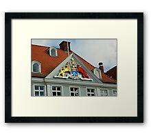 MVP23 Coat of Arms, Stralsund, Germany. Framed Print