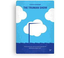 No234 My Truman show minimal movie poster Canvas Print