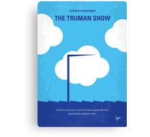 No234 My Truman show minimal movie poster Canvas Print