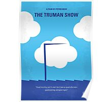 No234 My Truman show minimal movie poster Poster