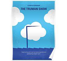 No234 My Truman show minimal movie poster Poster