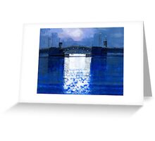 dawn bridge Greeting Card