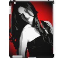 Red & Black iPad Case/Skin