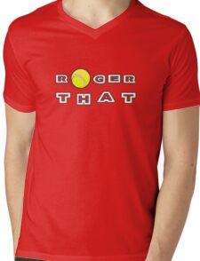 Roger That - Tennis Masters Mens V-Neck T-Shirt