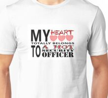 My Heart Belongs - Security Unisex T-Shirt