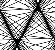 Lissajous X Sticker