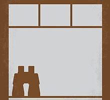No238 My Rear window minimal movie poster by JinYong