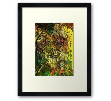 Face the front! Framed Print