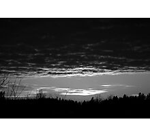 White flash Photographic Print