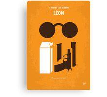 No239 My LEON minimal movie poster Canvas Print