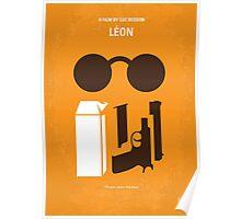 No239 My LEON minimal movie poster Poster