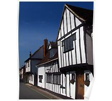 The Old House & George Street, Hadleigh Poster