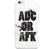 Adc or Afk iPhone Case/Skin