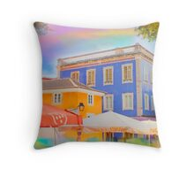 Sintra colorized Throw Pillow