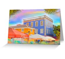 Sintra colorized Greeting Card