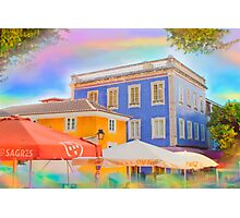Sintra colorized Photographic Print