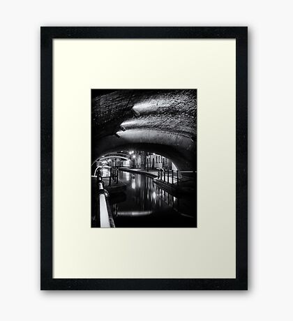 The Tunnel of Love Framed Print