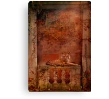 Tigra de la Rosa Canvas Print