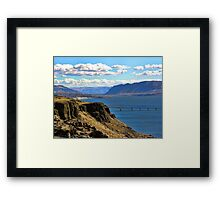 Beautiful Vantage - Columbia River Gorge Framed Print