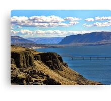 Beautiful Vantage - Columbia River Gorge Canvas Print
