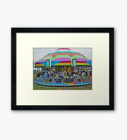 Small Town Fun...Idaho Framed Print