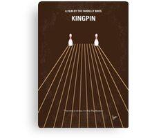 No244 My KINGPIN minimal movie poster Canvas Print