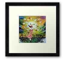 'Awakening (First Dance of Spring)' Framed Print