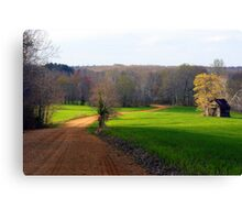 Kentucky Turning Green....... Canvas Print