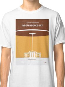 No249 My INDEPENDENCE DAY minimal movie poster Classic T-Shirt