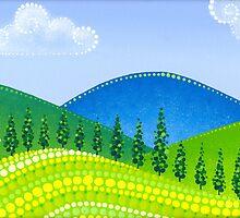Rolling Green Hills by Elspeth McLean