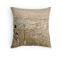 In the Plains Throw Pillow