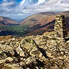 The rocky top of Loughrigg fell by Shaun Whiteman