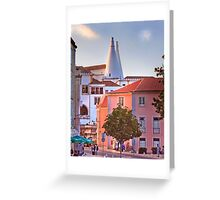 sintra sunset Greeting Card