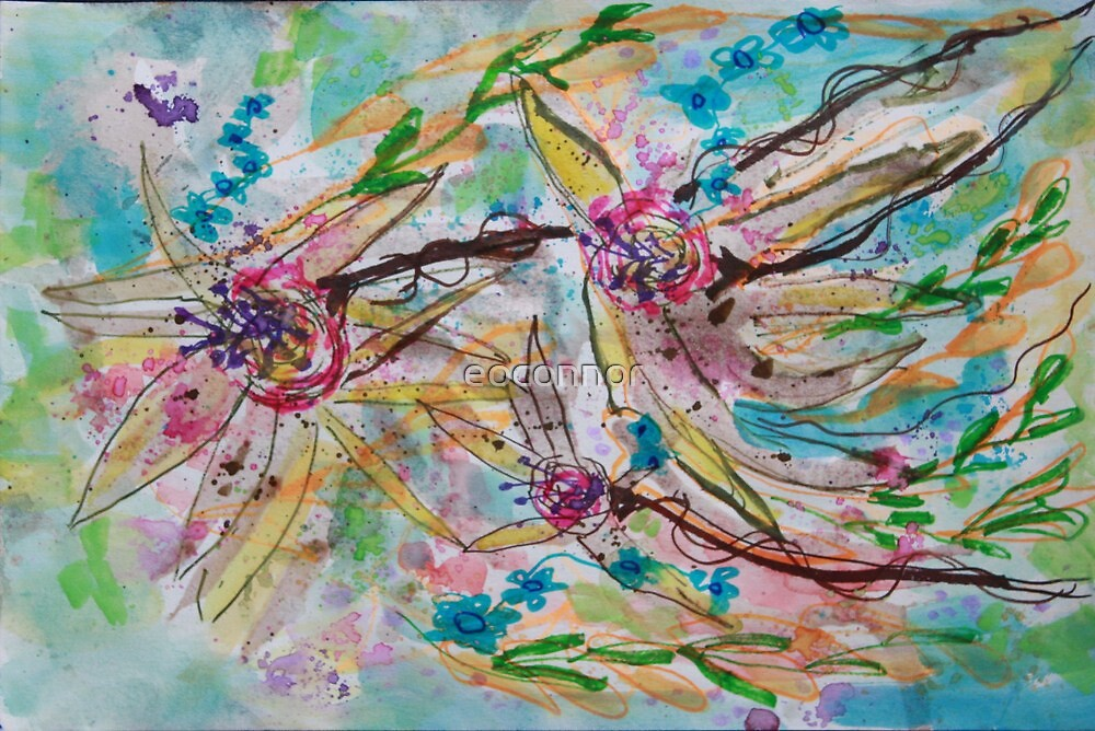 TREE ORCHIDS IN THE WIND by eoconnor
