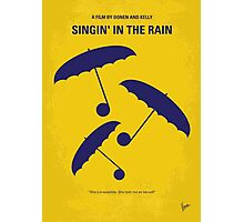 No254 My SINGIN IN THE RAIN minimal movie poster Photographic Print