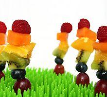 Fruity rainbow garden by Ghelly